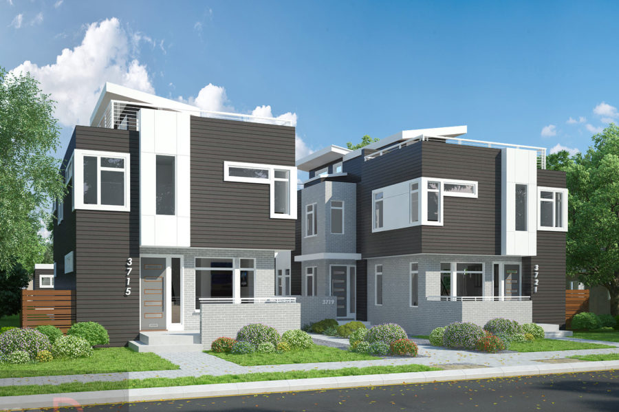 3715 3721 Inca Denver Town Homes