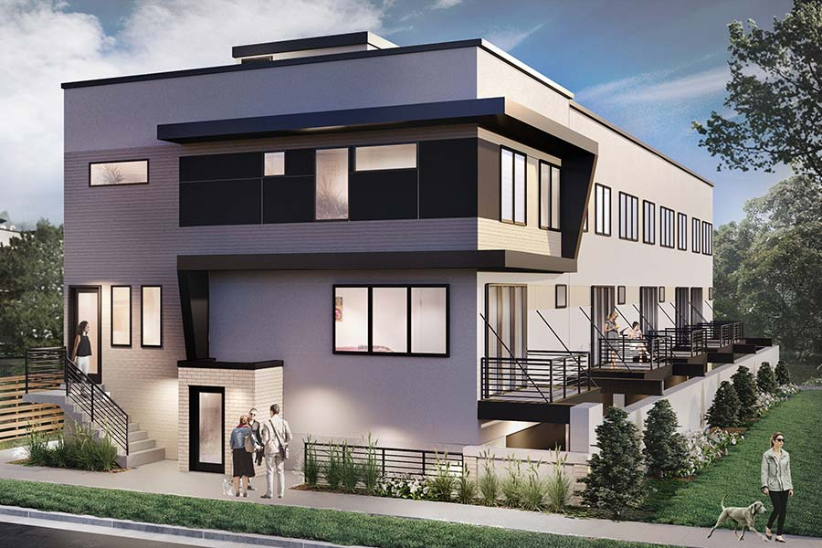 4008 Tejon Street Denver Town Homes